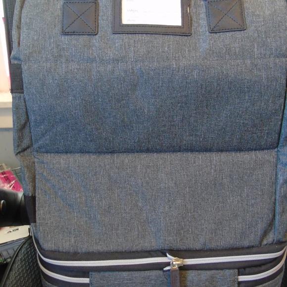 Biaggi Handbags - Biaggi Zipsack Charcoal Gray NEW without packaging